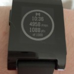 I find Pebble's built-in pedometer way more accurate than my ill-fated FitBit experience