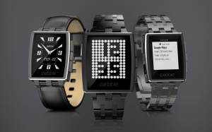 The Pebble Steel brings slightly better design for twice the price and no additional functionality