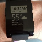 Time, date, GPS-based weather, all on your wrist? Who could ask for more?