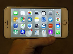 Meet the iPhone 6 Plus. It's big. Really big.