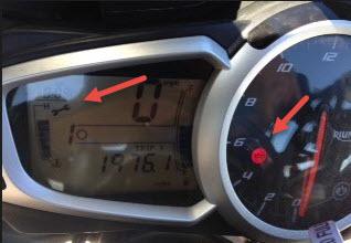 Triumph Service Indicator Icon